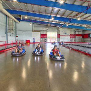 indoor go-kart racing track in PA